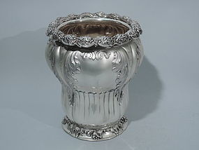 Gilded Age Silver Wine Cooler by Tiffany C 1886