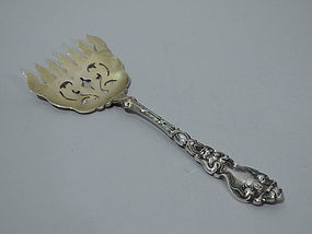 Unger Douvaine Sterling Silver Sardine Fork C 1904
