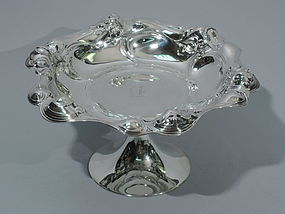 Art Nouveau Compote - American Sterling Silver