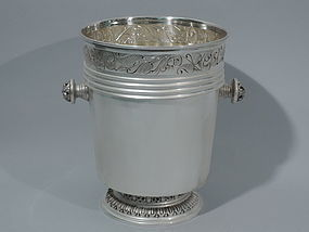 Modern Classical Wine Cooler - Italian Silver C 1950
