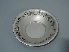 Circus Cereal Bowl - American Sterling Silver C 1915