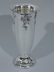 Pretty Sterling Silver Vase by Gorham 1906