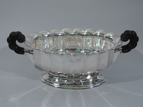Classical Centerpiece Bowl - German Silver C 1920