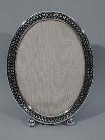 Gorham Sterling Silver Picture Frame - Large & Oval