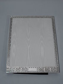 American Sterling Silver Frame with Knotwork Ornament by McChesney