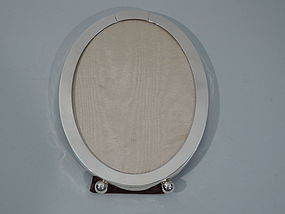 Gorham Sterling Silver Oval Picture Frame