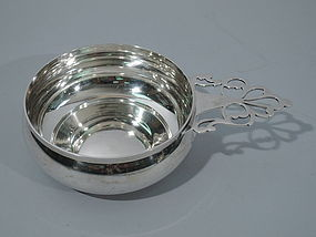 Tiffany Sterling Silver Porringer after 1780 Colonial Model