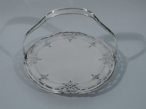 Lovely Sterling Silver Cake Plate by Reed & Barton C 1920