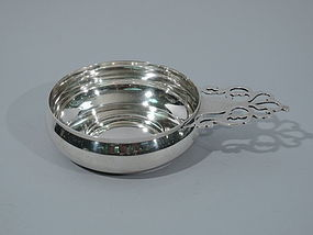 Tiffany Colonial Sterling Silver Porringer After Revere C 1917