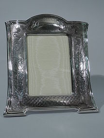 Fancy Sterling Silver Picture Frame by Tiffany