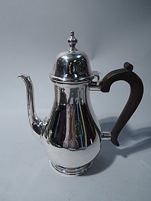Tiffany Sterling Silver Coffeepot C 1937