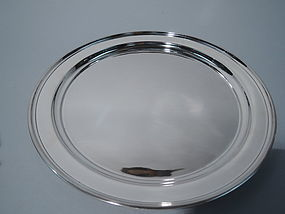 International Sterling Silver Appetizer Tray
