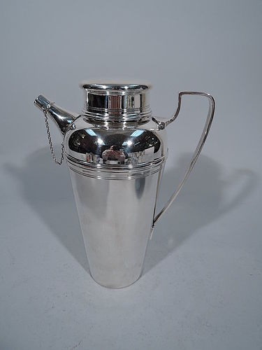Tiffany Sterling Silver Cocktail Shaker C 1950