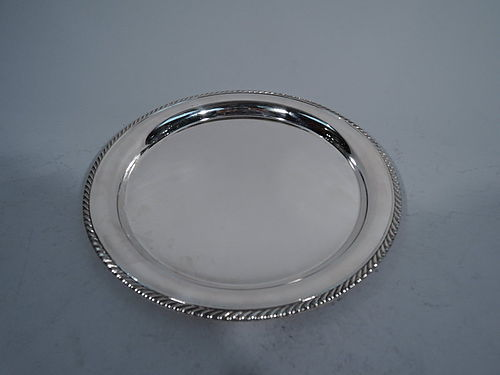 Gorham Georgian Style Sterling Silver Tray