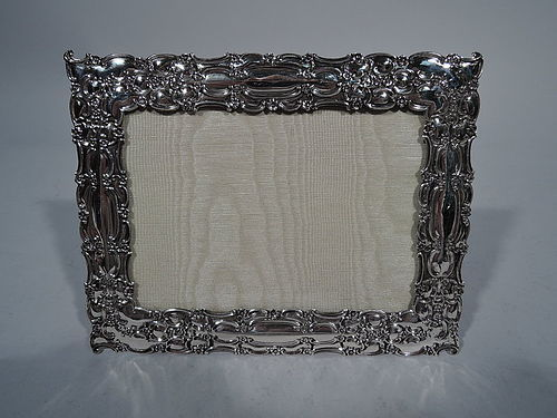 Antique Sterling Silver Picture Frame by Tiffany C 1896