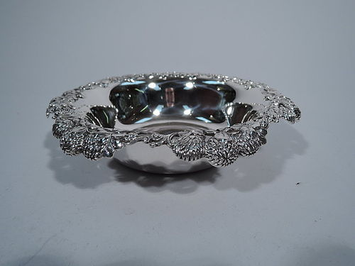 Antique Tiffany Clover Sterling Silver Bowl