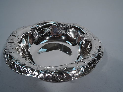 Tiffany Antique Sterling Silver Bowl with Pretty Flowers
