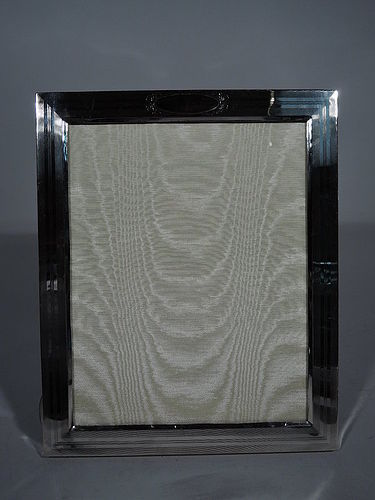 Large American Edwardian Sterling Silver Picture Frame