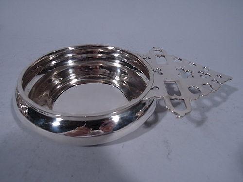 Bulgari Heavy Sterling Silver Porringer