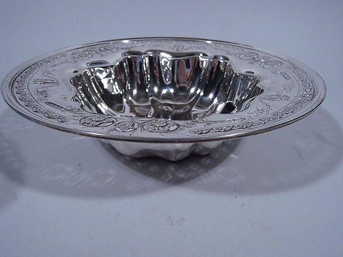 American Art Nouveau Sterling Silver Bowl