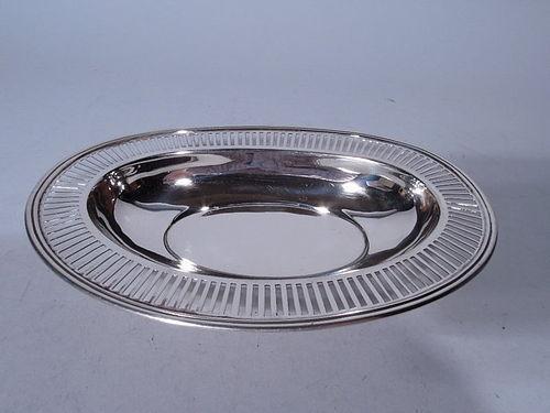 Tiffany Edwardian Sterling Silver Pierced Bowl