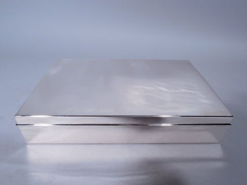 Tiffany Sterling Silver Desk Box - Large & Heavy