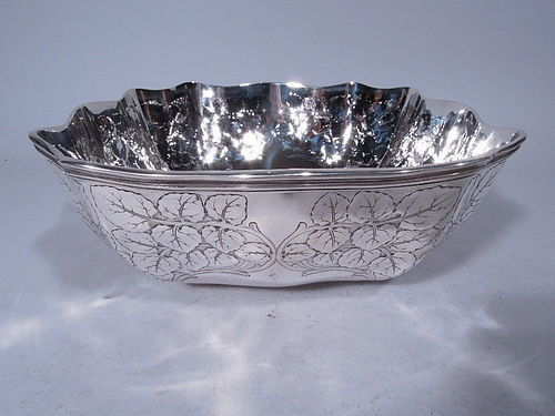 Beautiful Edwardian Sterling Silver Bowl by Tiffany