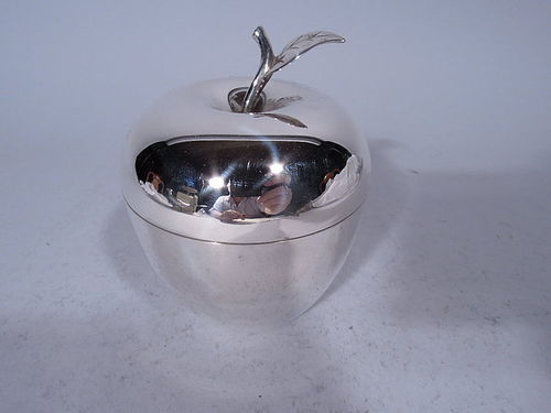 Tiffany Modern Sterling Silver Apple Box