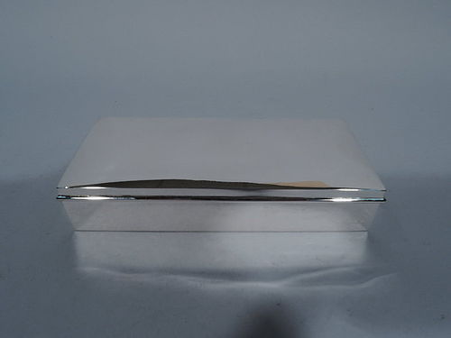 American Modern Sterling Silver Desk Box by Andrew Taylor