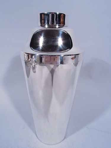 American Art Deco Sterling Silver Cocktail Shaker by Blackinton