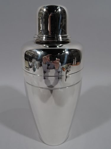Classic Tiffany Sterling Silver Cocktail Shaker C 1945