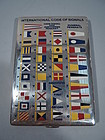 Tiffany Sterling Silver & Enamel Nautical Signal Flags Cigarette Case