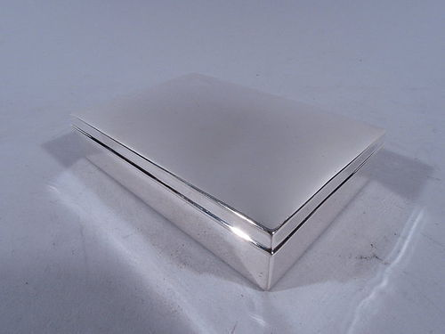 Antique Tiffany Sterling Silver Box C 1910