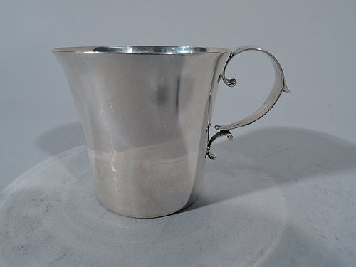 Neat and Elegant Sterling Silver Baby Cup by Gorham 1919