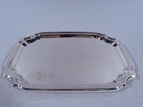 American Sterling Silver Rectangular Tray