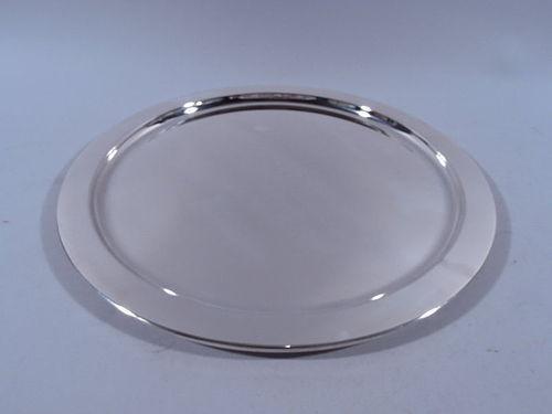 Tiffany Modern Sterling Silver Serving Tray