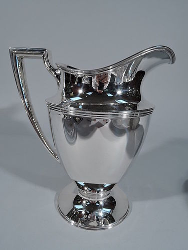 Tiffany Sterling Silver Water Pitcher C 1911