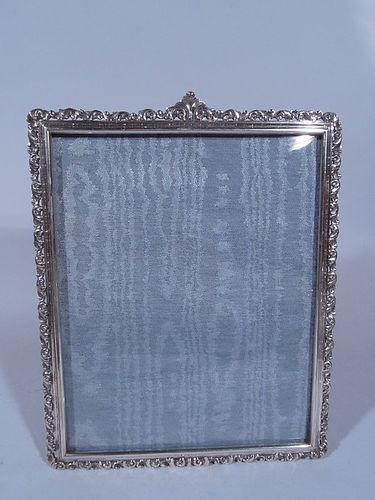 Mario Buccellati Heavy Silver Picture Frame
