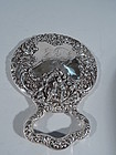 Art Nouveau Sterling Silver Mirror by Very Collectible Unger Bros.