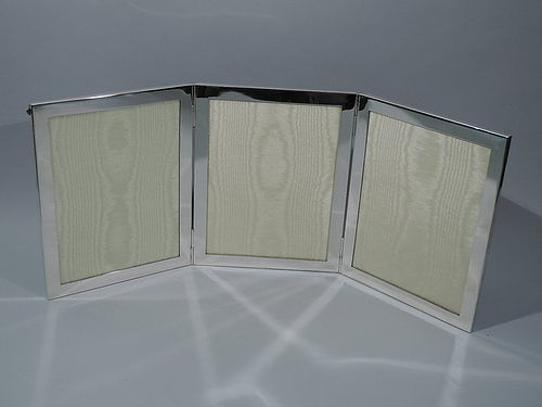 Tiffany Sterling Silver Triple Picture Frame for Extra Memories