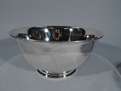 Tiffany Large Sterling Silver Trophy Bowl - Lots of Room for Engraving
