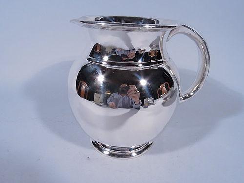 Cartier Midcentury Modern Sterling Silver Water Pitcher
