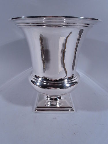 Tiffany Modern Classical Large & Heavy Sterling Silver Wine Cooler