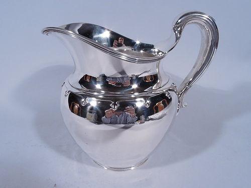 Tiffany Modern Sterling Silver Trefoil Water Pitcher
