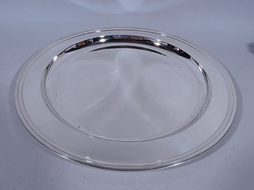 Tiffany Deep and Heavy Sterling Silver Tray