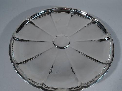 Tiffany American Craftsman Sterling Silver Cake Plate