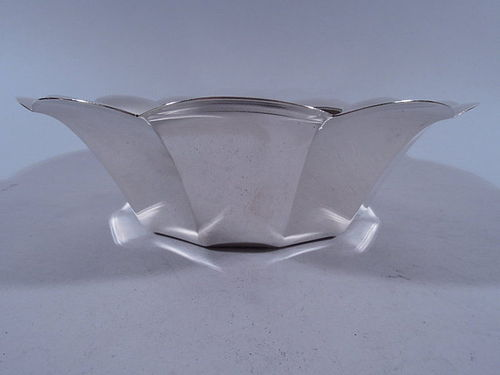 Tiffany American Midcentury Modern Sterling Silver Bowl