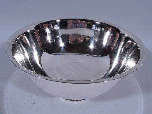 Tiffany Large Sterling Silver Revere Bowl - Lots of Room for Engraving