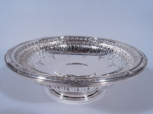 Pretty Sterling Silver Footed Bowl by Gorham 1926