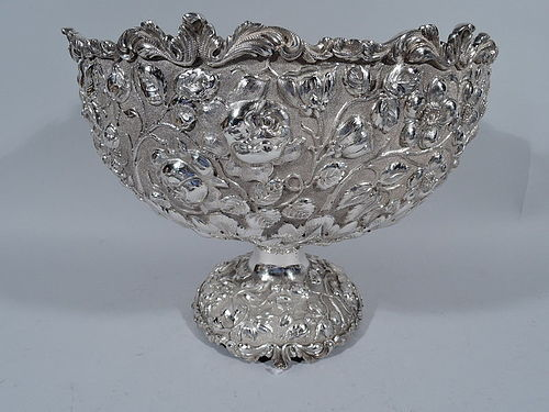Finest Quality Sterling Silver Centerpiece Bowl by Stieff of Baltimore